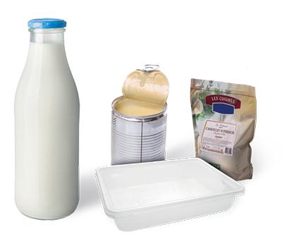 Les types de produits ou emballages