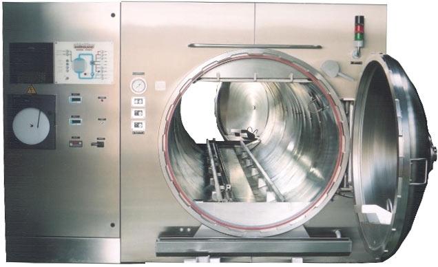 STERIFLOW statique à ruissellement d'eau surchauffée