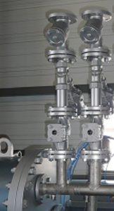 Circuit d'eau, eau glacée - autoclave industriel