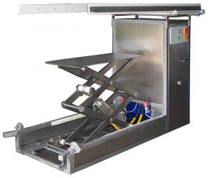 Elévateurs de paniers - Stérilisation industrielle - Steriflow
