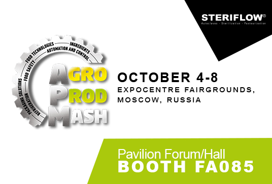 Meet Steriflow at AgroprodMash in Moscow